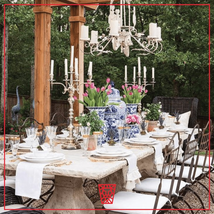 Getting Elegant, Al Fresco!